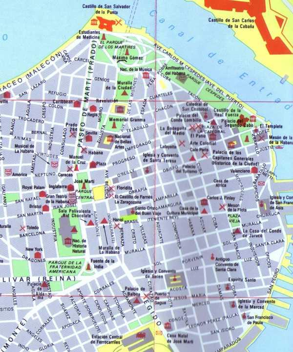Terres de Cuba   Géographie : Des Cartes de Cuba